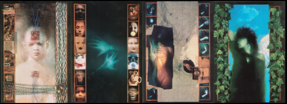 Capas de Sandman 5-8. Arte de Dave McKean.