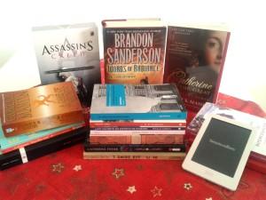 Algumas leituras de 2014 + 2015 (incluindo o conteúdo secreto do meu Kobo!)