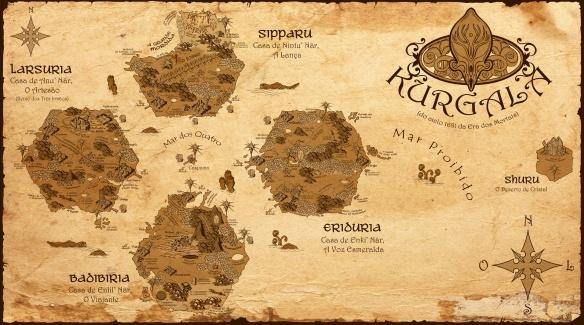 Mapa de Kurgala