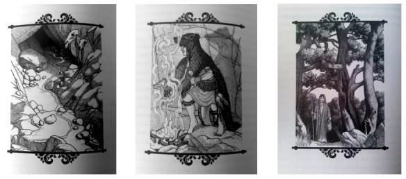 As oníricas e delicadas ilustrações de Michele Montez