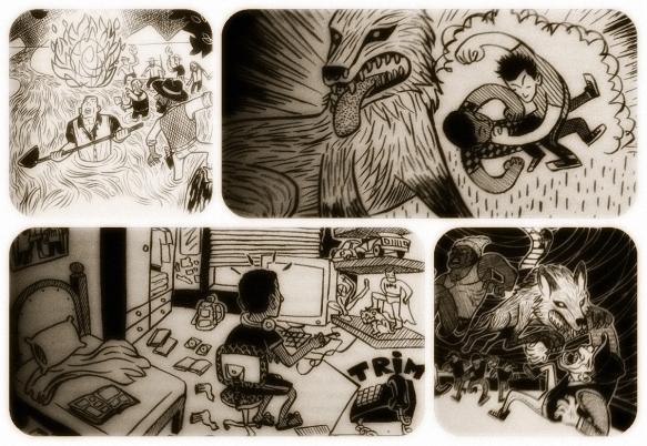 As Ilustrações de Thiago Cruz